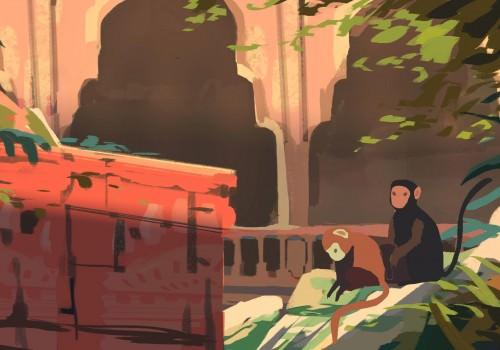 Atelier de Sèvre prépa animation film hanuman